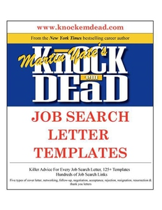 Knock Em Dead Job Search Letter Templates (e-bo