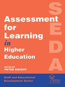 Assessment for Learning in Higher Education (e-