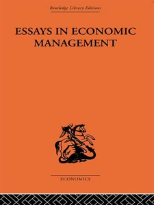 Essays in Economic Management (e-bok) av Alec C