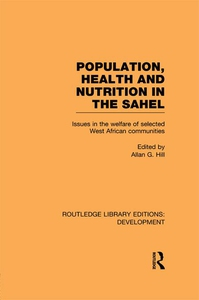 Population, Health and Nutrition in the Sahel (