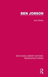 Ben Jonson (e-bok) av John Palmer