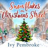 Snowflakes on Christmas Street