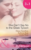 She can't say no to the greek tycoon