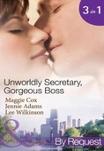 Unwordly secretary, gorgeous boss