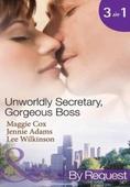 Unwordly secretary, gorgeous boss
