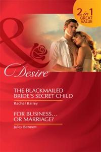 The Blackmailed Bride's Secret Child (ebok) a