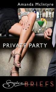 Private party (ebok) av Amanda McIntyre