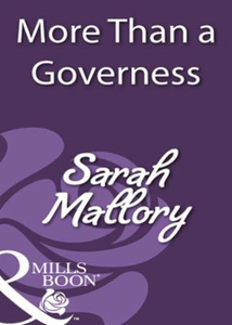 More than a governess (ebok) av Sarah Mallory