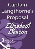 Captain langthorne's proposal