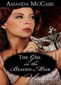 Girl in the beaded mask