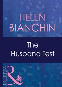 The husband test (ebok) av Helen Bianchin