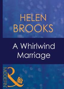 A whirlwind marriage (ebok) av Helen Brooks