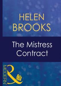 The mistress contract (ebok) av Helen Brooks