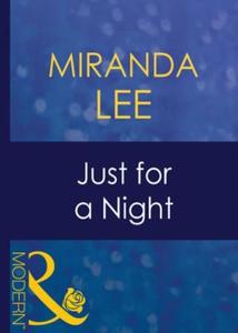 Just for a night (ebok) av Miranda Lee