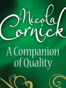A Companion Of Quality (ebok) av Nicola Corni
