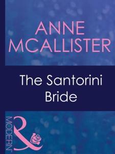 The santorini bride (ebok) av Anne McAllister