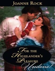 For the highlander's pleasure (ebok) av Joann