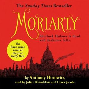 Moriarty (lydbok) av Anthony Horowitz, Ukjent