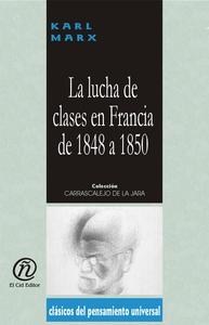 La lucha de clases en Francia de 1848 a 1850 (e