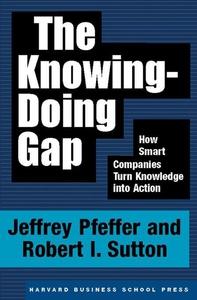 The Knowing-Doing Gap (e-bok) av Jeffrey Pfeffe