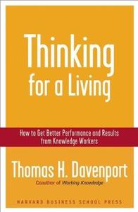 Thinking for a Living (e-bok) av Thomas H. Dave
