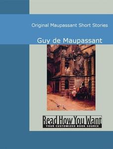 Original Maupassant Short Stories (e-bok) av Gu
