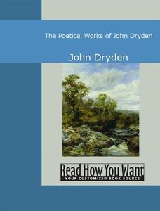 The Poetical Works of John Dryden (e-bok) av Jo