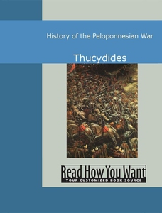 History of the Peloponnesian War (e-bok) av Thu