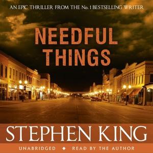 Needful Things (lydbok) av Stephen King, Ukje