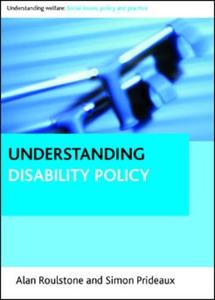 Understanding disability policy (e-bok) av Alan