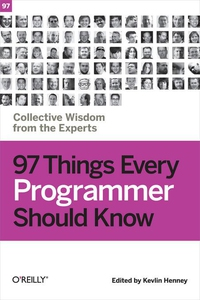 97 Things Every Programmer Should Know (e-bok)