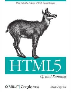 HTML5 (e-bok) av Mark Pilgrim