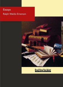 Essays (e-bok) av Ralph Waldo Emerson