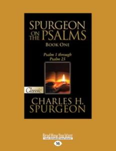 Spurgeon on the Psalms (Book One) (e-bok) av Ch