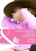 Little cowgirl on his doorstep