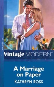 A Marriage on Paper (ebok) av Kathryn Ross