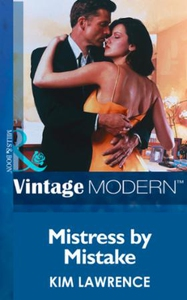 Mistress by Mistake (ebok) av Kim Lawrence