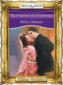 The Property of a Gentleman (ebok) av Helen D