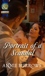 Portrait of a Scandal (ebok) av Annie Burrows