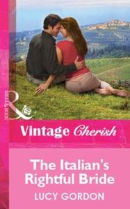 The Italian's Rightful Bride (ebok) av Lucy G
