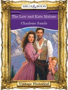 The Law and Kate Malone (ebok) av Charlene Sa