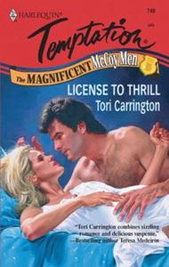License to Thrill (ebok) av Tori Carrington