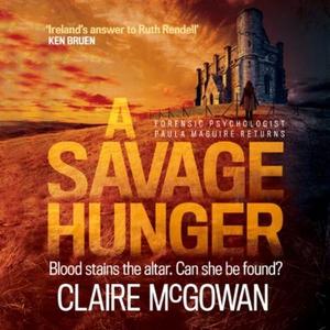 A Savage Hunger (Paula Maguire 4) (lydbok) av