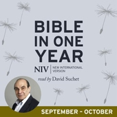 NIV Audio Bible in One Year (Sept-Oct)