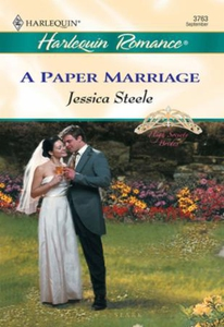 A Paper Marriage (ebok) av Jessica Steele