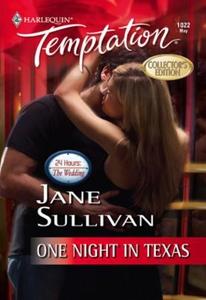 One Night In Texas (ebok) av Jane Sullivan