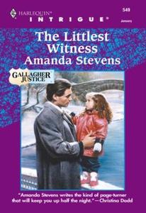 The Littlest Witness (ebok) av Amanda Stevens