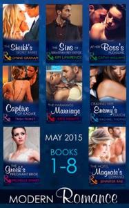 Modern Romance May 2015 Books 1-8 (ebok) av L