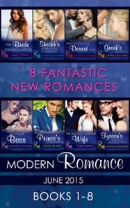 Modern Romance June 2015 Books 1-8 (ebok) av