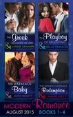 Modern Romance August Books 1-4